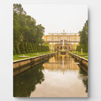 Peterhof Palace and Gardens St. Petersburg Russia Display Plaque
