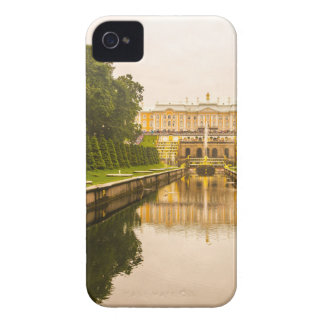 Peterhof Palace and Gardens St. Petersburg Russia iPhone 4 Case-Mate Case