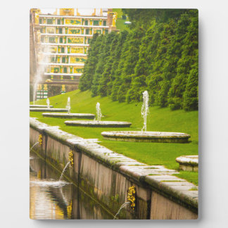 Peterhof Palace and Gardens St. Petersburg Russia Photo Plaques