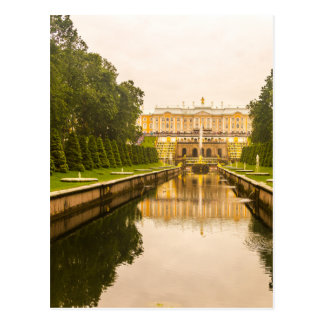 Peterhof Palace and Gardens St. Petersburg Russia Postcard