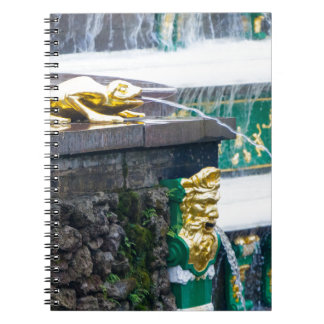 Peterhof Palace and Gardens St. Petersburg Russia Spiral Note Book