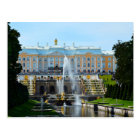 Peterhof Palace Grand Cascade, Russia Postcard