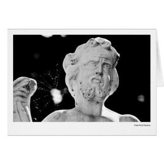 Peterhof Statue Card