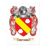 Peters Coat of Arms (Family Crest) Postcards