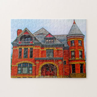 Peters House Fort Wayne. Jigsaw Puzzle
