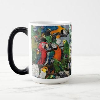 """""""Peter's Parrots"""" Magic Mug"""