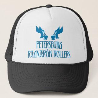 Petersburg Ragnarok Rollers Trucker Hat Blue 2
