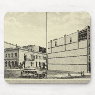 Petersen residence, Dewey, and Stone, Nebraska Mouse Pad