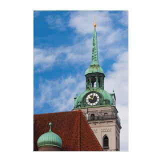 Peterskirche Church Tower Acrylic Wall Art