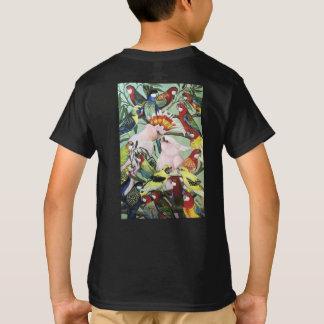 Pete's Parrots - Natives edition kids T-Shirt