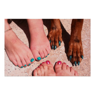 Peticure - Pedicure Spa Day Poster