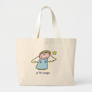 Petit Ange (little angel in French) Canvas Bag