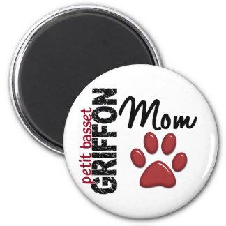 Petit Basset Griffon Mom 2 Fridge Magnets