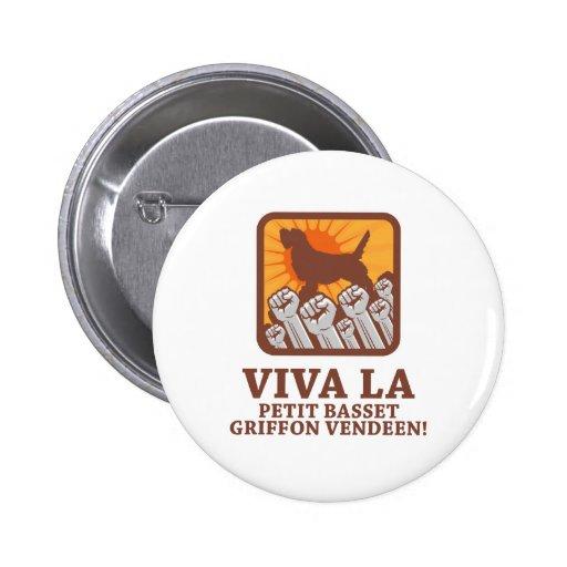 Petit Basset Griffon Vendeen Buttons