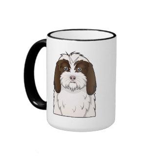 Petit Basset Griffon Vendéen Cartoon Coffee Mug