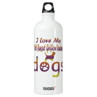 Petit Basset Griffon Vendeen designs SIGG Traveller 1.0L Water Bottle