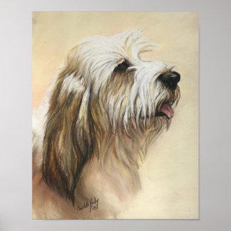 Petit Basset Griffon Vendeen Dog Art Print