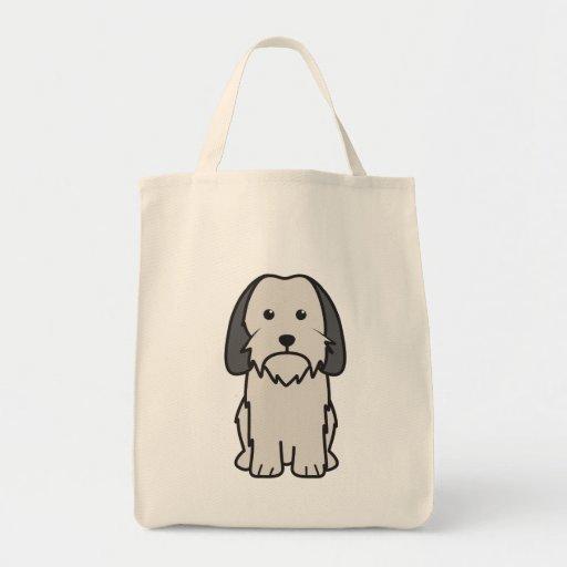 Petit Basset Griffon Vendeen Dog Cartoon Canvas Bags