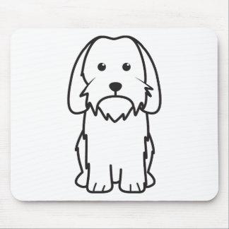 Petit Basset Griffon Vendeen Dog Cartoon Mouse Pad