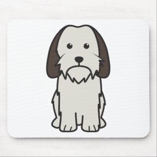 Petit Basset Griffon Vendeen Dog Cartoon Mouse Pads