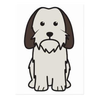 Petit Basset Griffon Vendeen Dog Cartoon Postcard