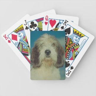 Petit Basset Griffon Vendeen Dog Playing Cards