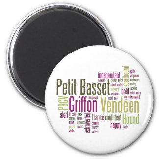 Petit Basset Griffon Vendeen Magnet