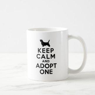 Petit Basset Griffon Vendeen Coffee Mugs