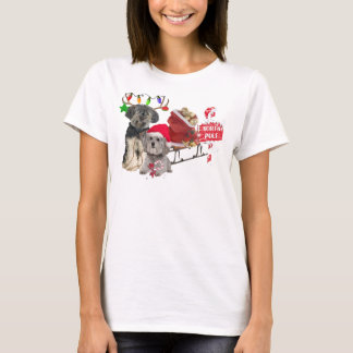 Petit Basset Griffon Vendeen North Pole T-Shirt