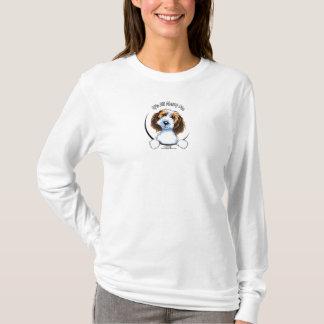 Petit Basset Griffon Vendeen PBGV IAAM Logo T-Shirt