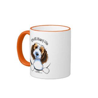 Petit Basset Griffon Vendeen PBGV IAAM Coffee Mug