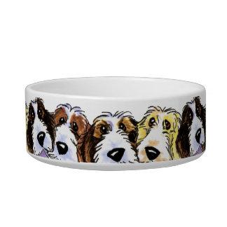 Petit Basset Griffon Vendeen PBGV Pack Cat Bowls