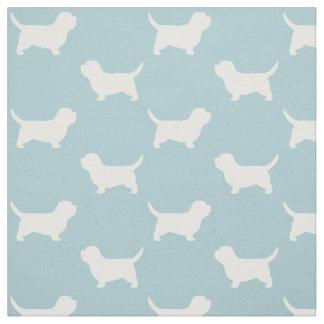 Petit Basset Griffon Vendeen PBGV Silhouettes Fabric