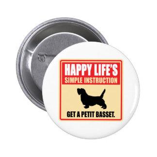 Petit Basset Griffon Vendeen Pinback Button