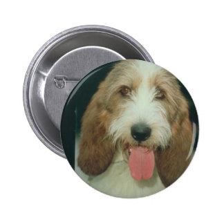 Petit Basset Griffon Vendeen Pinback Buttons