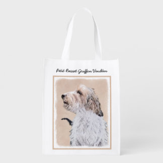 Petit Basset Griffon Vendéen Reusable Grocery Bag
