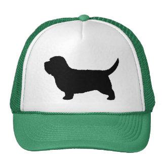 Petit Basset Griffon Vendeen Silhouette Trucker Hats