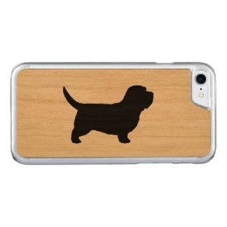 Petit Basset Griffon Vendeen Silhouette Carved iPhone 7 Case