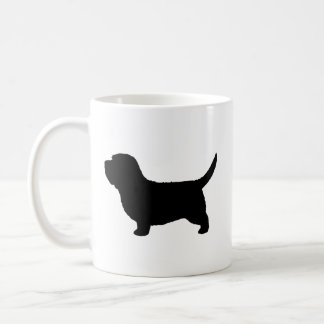 Petit Basset Griffon Vendeen Silhouettes Coffee Mug