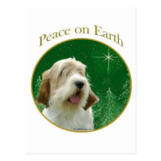 Petit Basset Griffon Venden Peace Postcard