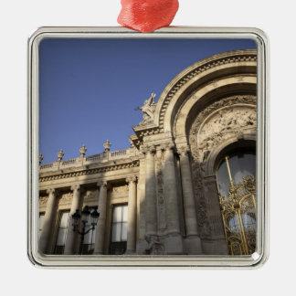 Petit Palais. Paris. France Silver-Colored Square Decoration