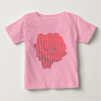 Petit Point Red Rose Infants T-shirt