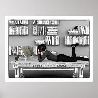 Petit rat de bibliothèque poster