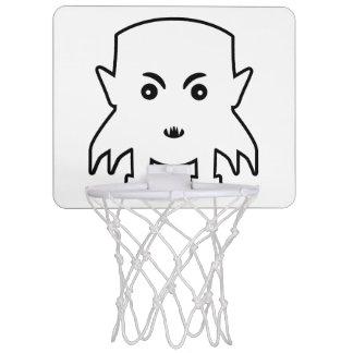 Petit Vampire Cartoon Illustration Mini Basketball Hoop
