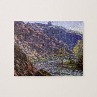 Petite Creuse, Sunlight by Claude Monet Jigsaw Puzzle