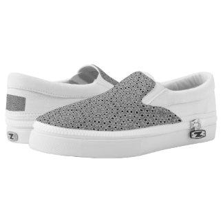 Petite Noir Slip On Shoes