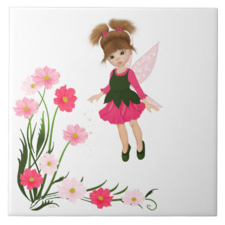 "PetitRose ""Little Flower Fairy"" , Tile"
