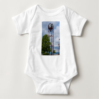 Petosky Tower Of Time Baby Bodysuit