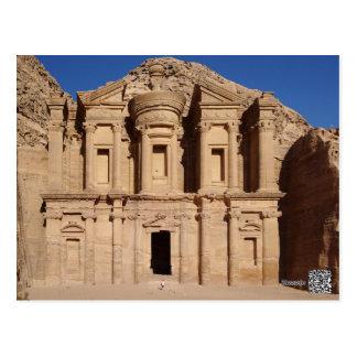 Petra Jordan Postcard