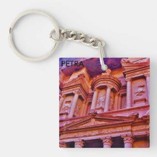 Petra Single-Sided Square Acrylic Key Ring